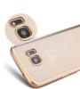 TPU чехол с золотой каймой для Samsung G930F Galaxy S7