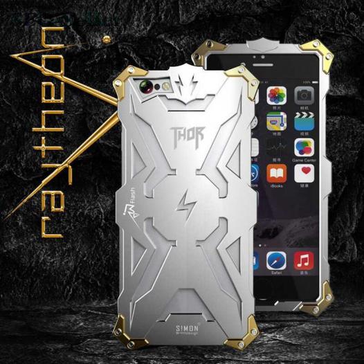 Брутальный металлический чехол SHP для Apple iPhone 6/6s (4.7