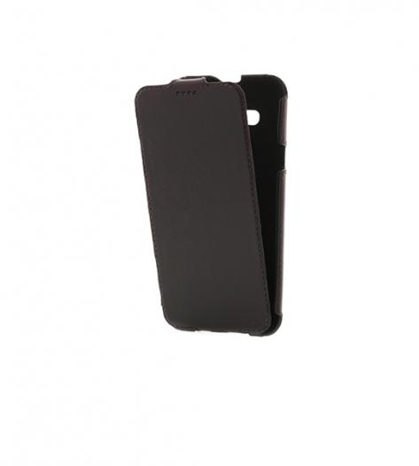 Кожаный чехол (флип) Valenta для Samsung J700H Galaxy J7
