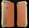 """Алюминиевый бампер Luphie Dark Knight для Apple iPhone 6/6s (4.7"""") + наклейка из кожи на зад. панель"""