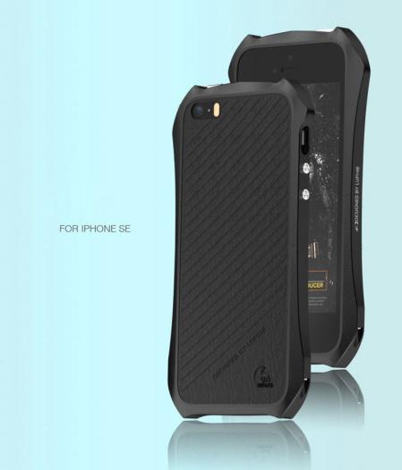 Алюминиевый бампер Luphie Dark Knight для Apple iPhone 6/6s (4.7