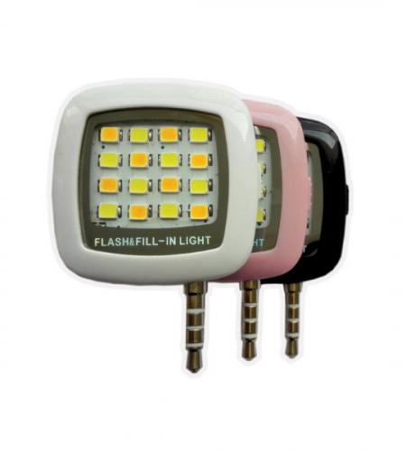 LED вспышка на смартфон для селфи (Jack 3,5)