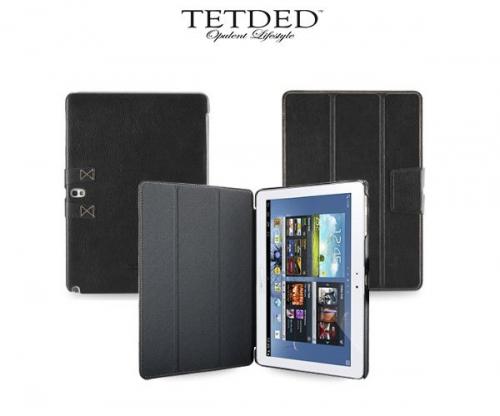 Кожаный чехол (книжка) TETDED для Samsung Galaxy Note 10.1 (2014)