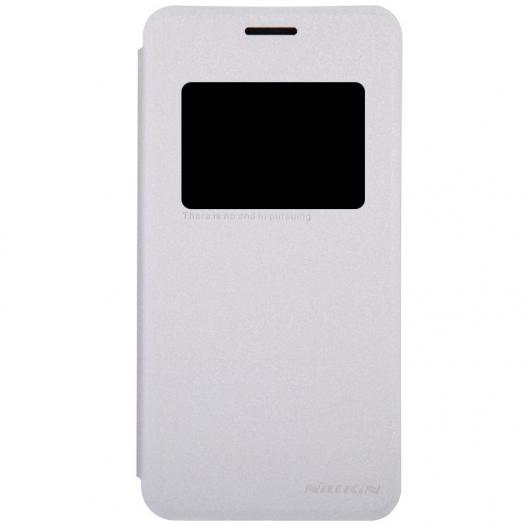 Кожаный чехол (книжка) Nillkin Sparkle Series для Asus Zenfone 5 (A501CG)