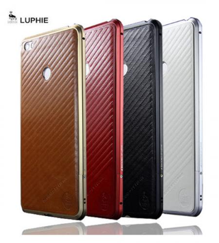 Алюминиевый бампер Luphie Blade Sword для Xiaomi Mi Max (+наклейка из кожи на заднюю панель)