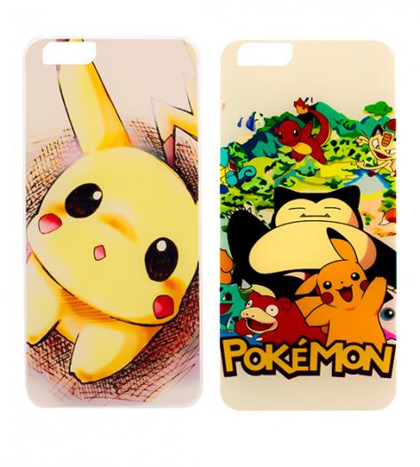 Ультратонкий TPU чехол Pokemon для Apple iPhone 6/6s (4.7