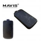 Кожаный футляр Mavis Classic PYTHON 128,5x65 для Xperia L/Fly IQ442