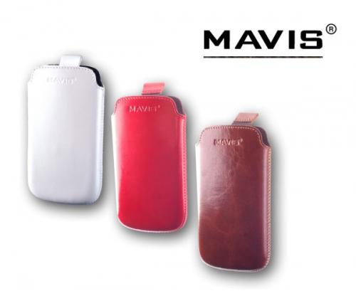 Кожаный футляр Mavis Premium 119x65 для Lumia 510/E445