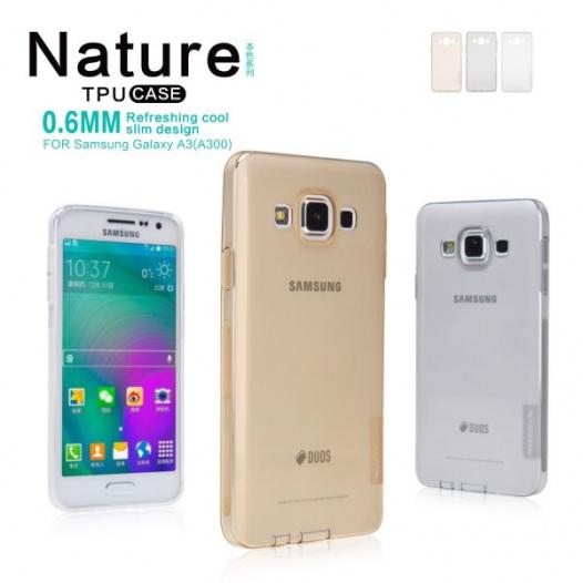 TPU чехол Nillkin Nature Series для Samsung A300H / A300F Galaxy A3