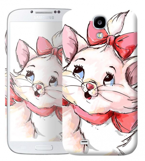 Чехол «Кошечка» для Samsung Galaxy s4 / Galaxy S4 mini