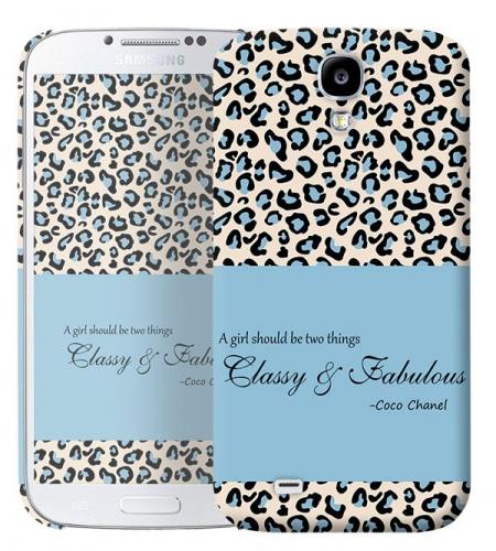 Чехол «Classy and Fabulous» для Samsung Galaxy s4 / Galaxy S4 mini