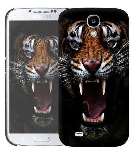 Чехол «Супер тигр» для Samsung Galaxy s4 / Galaxy S4 mini