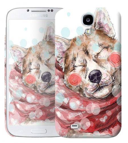 Чехол «Влюбленная собака» для Samsung Galaxy s4 / Galaxy S4 mini
