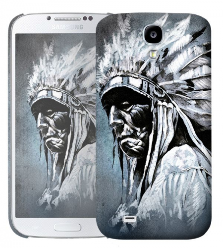 Чехол «Индеец» для Samsung Galaxy s4 / Galaxy S4 mini