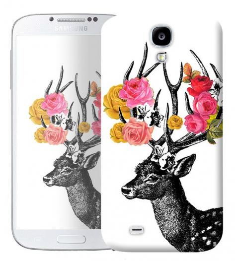 Чехол «Олень Весна» для Samsung Galaxy s4 / Galaxy S4 mini