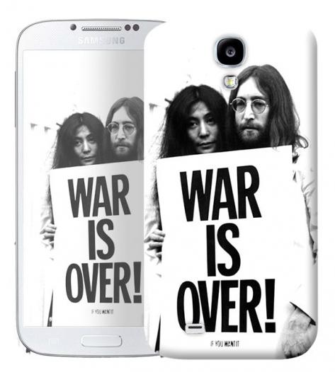 Чехол «War is over» для Samsung Galaxy s4 / Galaxy S4 mini