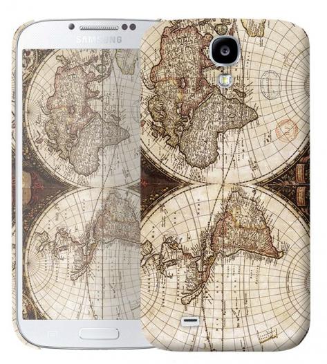Чехол «Карта» для Samsung Galaxy s4 / Galaxy S4 mini