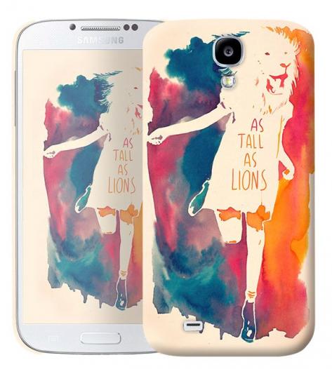 Чехол «As tall as lion» для Samsung Galaxy s4 / Galaxy S4 mini