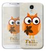 Чехол «Fall owl» для Samsung Galaxy s4 / Galaxy S4 mini