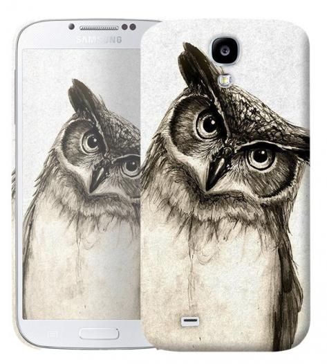 Чехол «Сова» для Samsung Galaxy s4 / Galaxy S4 mini