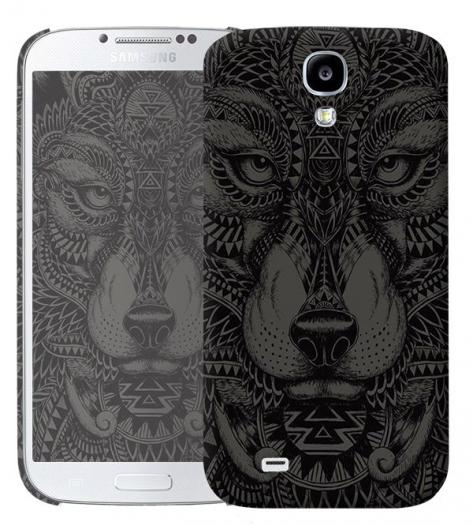 Чехол «Волк» для Samsung Galaxy s4 / Galaxy S4 mini
