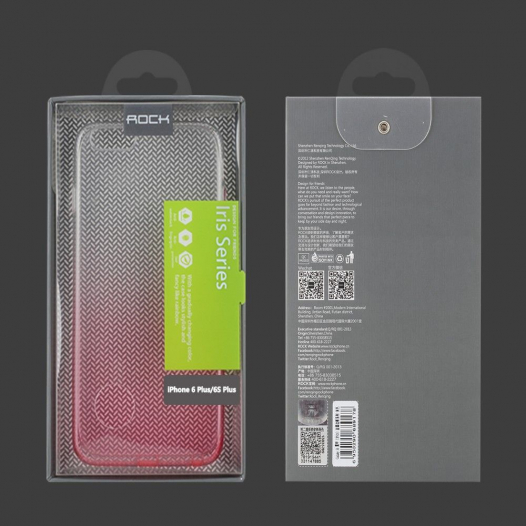 TPU чехол ROCK Iris series для Apple iPhone 6/6s plus (5.5