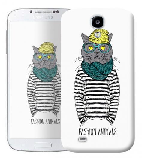 Чехол «Fashion Cat» для Samsung Galaxy s4 / Galaxy S4 mini