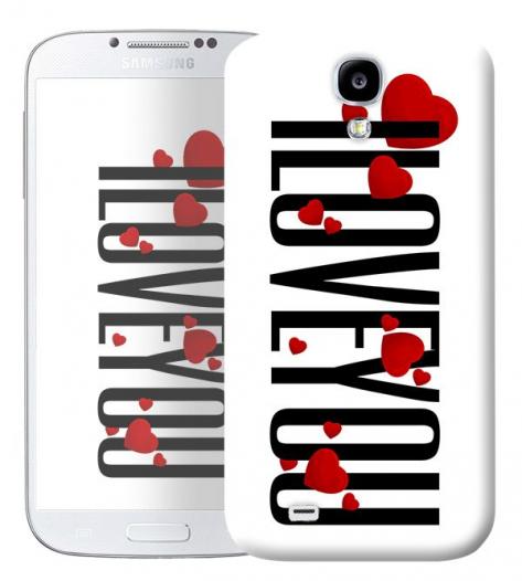 Чехол «I Love You» для Samsung Galaxy s4 / Galaxy S4 mini
