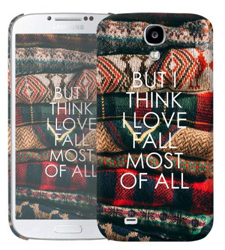 Чехол «Love fall» для Samsung Galaxy s4 / Galaxy S4 mini