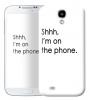 Чехол «Shhh...» для Samsung Galaxy s4 / Galaxy S4 mini