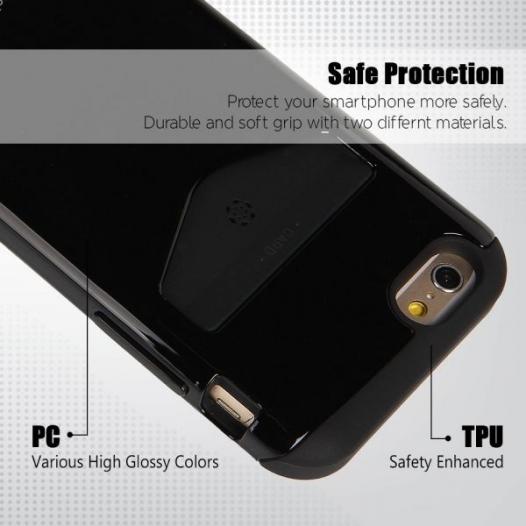 TPU+PC чехол Mercury iPocket для Apple iPhone 6/6s (4.7