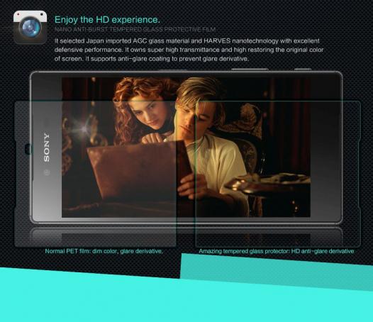 Защитное стекло Nillkin Anti-Explosion Glass Screen (H) для Sony Xperia Z5 Premium