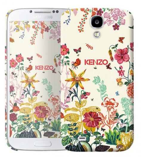 Чехол «Kenzo Flowers» для Samsung Galaxy s4 / Galaxy S4 mini