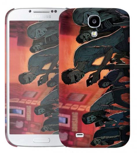 Чехол «Zombie phone» для Samsung Galaxy s4 / Galaxy S4 mini