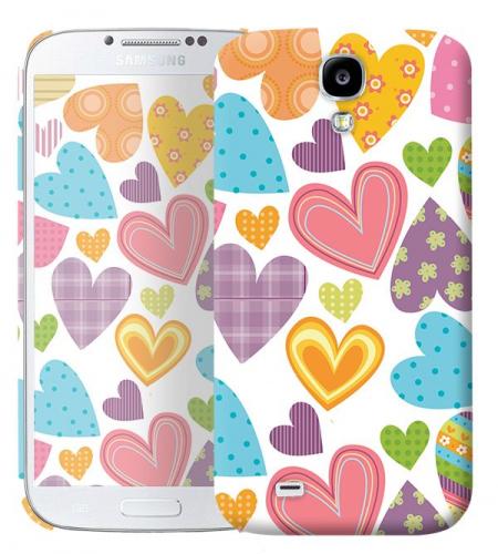 Чехол «Сердечки» для Samsung Galaxy s4 / Galaxy S4 mini