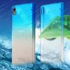 Пластиковая накладка IMAK Colorful Raindrop Series для Sony Xperia Z3+/Xperia Z3+ Dual