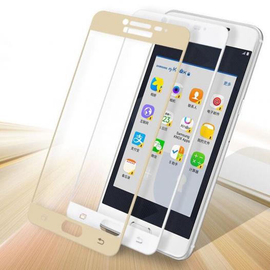 Защитное стекло CP+ на весь экран (цветное) для Samsung Galaxy C5