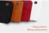 Кожаный чехол (книжка) Nillkin Qin Series для Samsung J510F Galaxy J5 (2016)