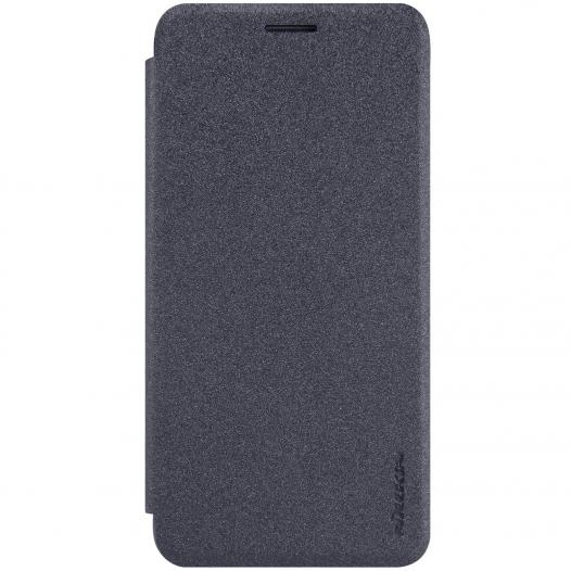 Кожаный чехол (книжка) Nillkin Sparkle Series для Samsung Galaxy C5