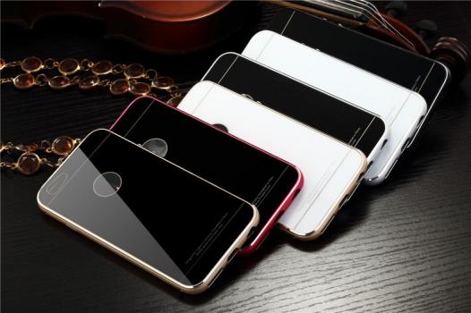 Металлический бампер Luphie с акриловой вставкой для Apple iPhone 6/6s (4.7