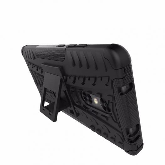 Противоударный двухслойный чехол Shield для Xiaomi Redmi Pro с подставкой