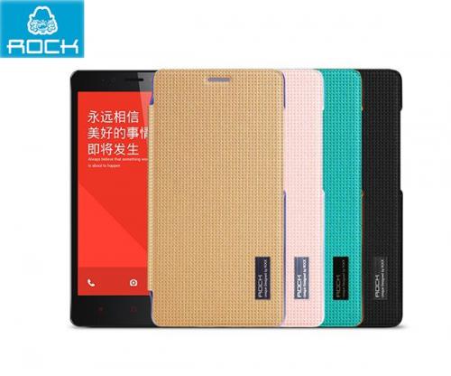 Чехол (книжка) Rock Elegant Series для Xiaomi Redmi Note