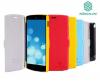 Кожаный чехол (книжка) Nillkin Fresh Series для LG D820 Nexus 5