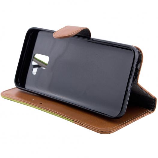 Кожаный футляр Mavis Classic Crocodile для Desire 400/i8262 Galaxy Core/IQ4416