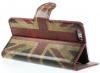 "Кожаный чехол-книжка Print ""Vintage UK National Flag"" для Apple iPhone 6/6s (4.7"")"