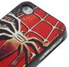 """Пластиковая накладка Print с алюминиевой вставкой """"Spider"""" для Apple iPhone 4/4S"""