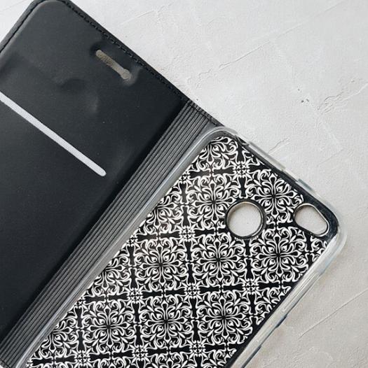 Кожаный чехол (книжка) Rock Uni Series для Apple iPhone 6/6s plus (5.5