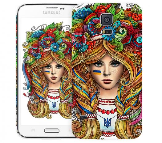 Чехол «Украинка» для Samsung Galaxy S5