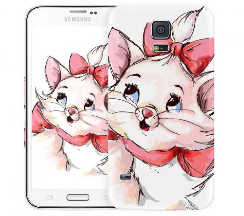 Чехол «Кошечка» для Samsung Galaxy S5