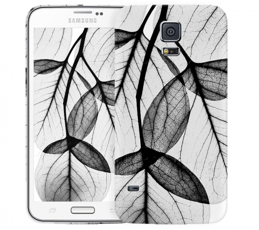 Чехол «Листики» для Samsung Galaxy S5